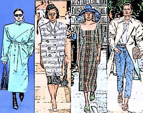 2020年春夏のファッショントレンド!コーディネートの参考に!
